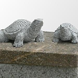 Sculture di animali in pietra for Tartaruga da giardino