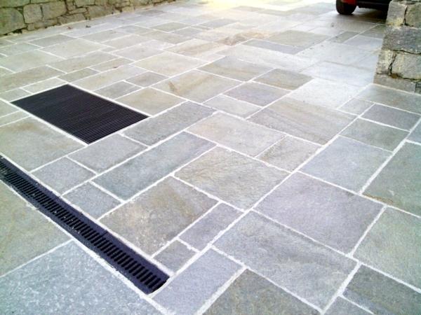 Come utilizzare la pietra di Luserna nella pavimentazione